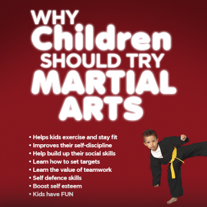 Why Children Should Try Martial Arts